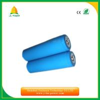 China rechargeable high power  3.7v  LiFePO4  800mah-5000mah the best panasonic 18650  /14500/18350 battery size on sale