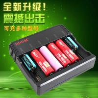 Quality 6 Slots AA AAA Lithium Ion Battery Charger , Universal Nimh Nicd Battery Charger for sale