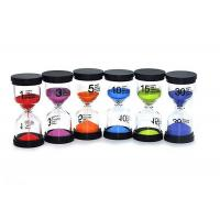 Quality Customized Different Timer Kids Hourglass Minute Timer Durable PVC Material for sale