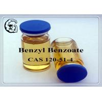 Quality CAS 120-51-4 Injectable Anabolic Steroids Solvents Medical Grade Benzyl Benzoate for sale