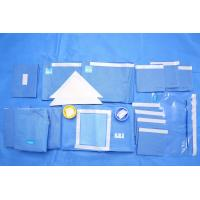 Buy Breathable SMMS EO Sterile Fenestrated Drape Packs for Clinic Surgery at wholesale prices