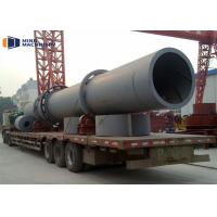 Compact Three Cylinder Rotating Drum Dryer Wear Resistant Tumbler Dryer for sale