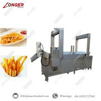 Quality French Fries Continuous Frying Machine|Commercial French Fries Fryer Equipment|French Fries Continuous Frying Machine for sale