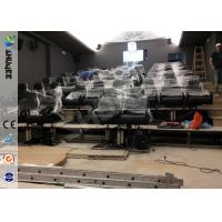Quality Servo Electronic And 5.1 Audio 6D Cinema Equipment With Dynamic Chairs for sale