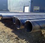 "Quality 1/2"" - 48"" Spiral Welded SSAW Steel Pipe API PSL1 PSL2 , DIN17175 / DIN 2448 for sale"