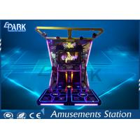 Quality LCD High definition Dancing King video dacing simulator music game machine for sale