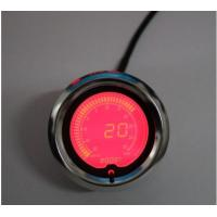 China Racing Exhaust Gas Temp Universal Auto Gauges With 60mm 7 Color Stepper Motor on sale
