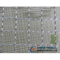 Quality 10mm, 12.7mm, 20mm Opening Crimped Wire Mesh for Producing Barbecue Grill for sale