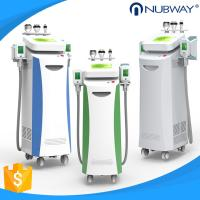 China Nubway 5 handles cryolipolysis fat freeze slimming machine  FDA CE approved  80%  salon clinic used on sale
