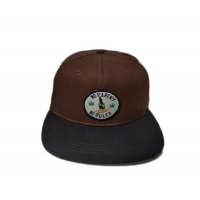 Quality New Style ACE Unisex Outdoor Solid Color Custom Applique Patch Logo Snapback Sports Flat Brim Cap for sale