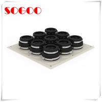 Quality Black Rubber Seal Cable Entry Plate Aluminum Alloy Wall Entry For Tower System for sale