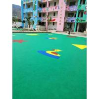 China Non - Toxic EPDM Rubber Flooring , Diverse Colors Rubber Garage Mats on sale