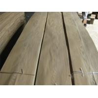 Quality Sliced Natural Brown Ash Wood Veneer Sheet, crown cut for sale
