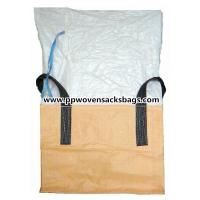 Quality Large Capacity Polypropylene FIBC Bulk Bags / PP Ton Bags for Food, Transport Packaging for sale