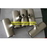Quality ASTM A403 ASME SA-403 WP UNS S31254 tee for sale