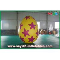 Quality Pvc Outside Inflatable Holiday Decorations Painted Decoration Egg for sale