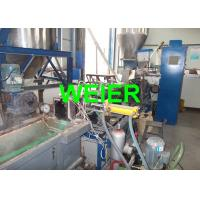 Quality Paralle Twin Screw PET Strap Extrusion Line , 380v 50Hz 100kgs/h for sale