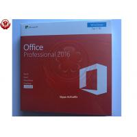 Quality COA License Sticker Microsoft Office Product Key English Version Ms Office 2016 Product Key for sale