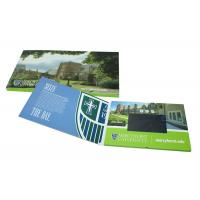 Customized China lcd video business cards, lcd video mailer for education