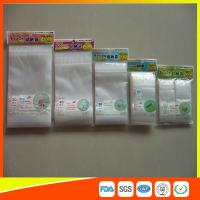 Quality Resealable Clear Packing Ziplock Bags , Grip Seal Strong Ziplock Bags For Packing for sale