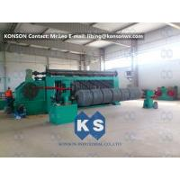 Buy High Speed Automated Gabion Machine Hexagonal Wire Mesh Production Line 4300mm at wholesale prices