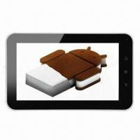 Quality 7-inch Tablet PCs, Android 4.0 Allwinner A10 5 Points Capacitive Touch Panel, 1.5GHz Master Frequenc for sale