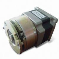 China Nema 23 57mm Electric Hybrid Stepper Motors 1.8 / 0.9 Degrees With 2 N.M Brake Assembled on sale