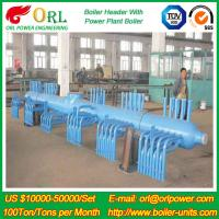 Quality 10 T Plant Rate Factor Power 300 MW Boiler Steam Header Natural Oil Chemical Industry for sale