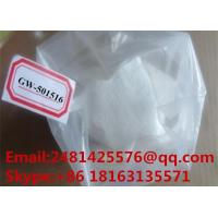 China GW501516 99% Purity GW-501516 Cardarine CAS 317318-70-0 SARM For Fat Loss on sale