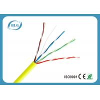Unshielded CCA UTP Cat5e Lan Cable For Structured Cabling Systems 0.50mm