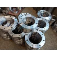 Quality ANSI DIN Stainless Steel Forged Casting Slip-on Pipe Flange for sale
