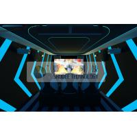 Quality Thrilling Mobile Extreme Digital Movie Theater 7D Motion Simulators Experience for sale