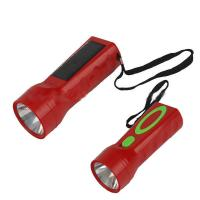 Quality Anfly 1 super bright LED rechargeable solar powered emergency flashlight for sale