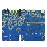 Quality 6 Layers PCBA Board Software Burning Program Coppercam Etching Pcb Assembly for sale