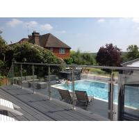Quality Hot Easy Install Stainless Steel Post Glass Clamps Balustrade for sale