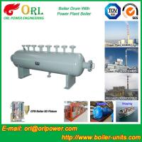 Quality 30 Ton Power Station Boiler Mud Drum Sterilization ORL Power SGS Standard for sale