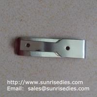 China Manganese steel spring clips heat treated, stamped manganese steel spring clips for sale