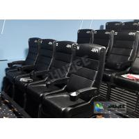 Quality Update 4D Theater Equipment Seats With Three Ultra Features And Physical Effect Technology for sale