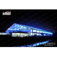 Large Clear Luxury Wedding Tents Decoration With Transparent Roof Cover for sale