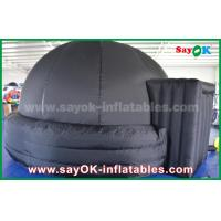 Quality 360 Degree PVC Tarpaulin Inflatable Dome Tent With Air Blower / Floor Mat for sale