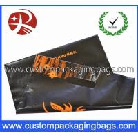 China Die Cut Handle Printed Plastic Carrier Bags For Outdoor Clothing on sale