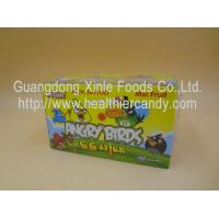 Quality Angry Bird 11g Low Calorie Candy Bar Mix Fruit CC Chubby Stick Curvy Candy for sale