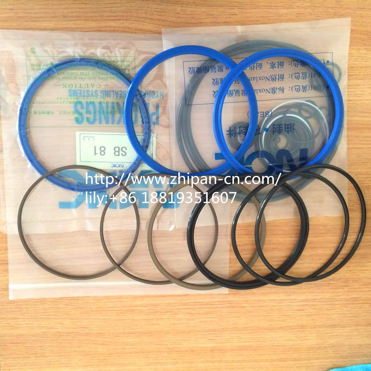 Quality Soosan SB-81 Complete Breaker Seal Kit 1.5m/S Speed Abrasion Resistance for sale
