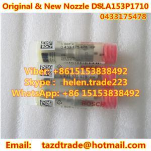 Quality BOSCH Original and New NOZZLE 0433175478 , DSLA153P1710 , DSLA 153P 1710 , 0 433 175 478 for sale