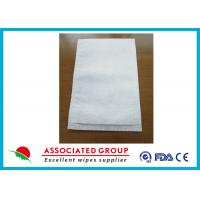 Buy cheap Disposable Medical Wet Wash Glove White Color For Hospital / Home Care from wholesalers