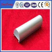 Quality Extruded Aluminium Profiles Champagne Electrophoresis For Windows And Doors for sale