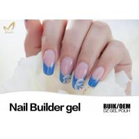 Quality Harmless Nail Extention Nail Builder Gel Transparent Color No Nicks No Chips for sale