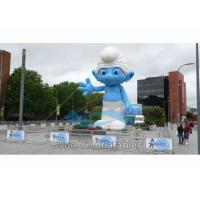 Buy cheap Outdoor Event Inflatable Replica / Inflatable Smurf Character with Digital from wholesalers