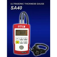 Quality Coupling Indication SA40 digital Ultrasonic Thickness Gauge 500m/sec - 9999m/sec Velocity Range for sale