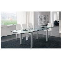 Quality House easy install extend tempered glass topped dining tables for sale